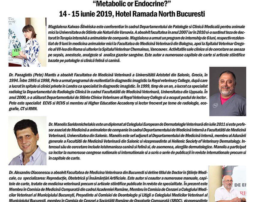 Al IV-lea Congres de endocrinologie veterinară