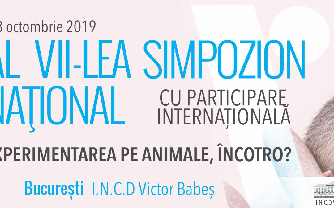 Conferință: Experimentarea pe animale, încotro?