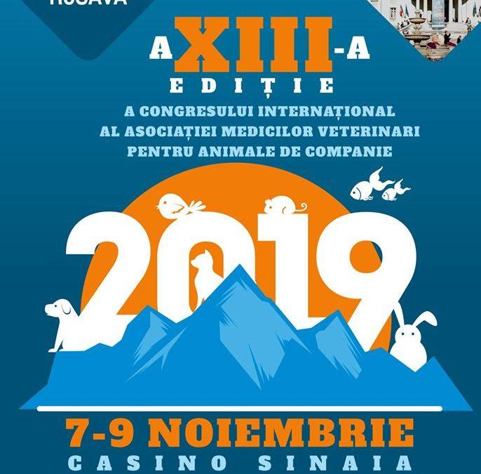 A XIII-a ediție a Congresului Internațional AMVAC: Sinaia, 7-9 noiembrie 2019