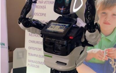 Roboțelul Emil – atracția Congresului AMVAC 2019