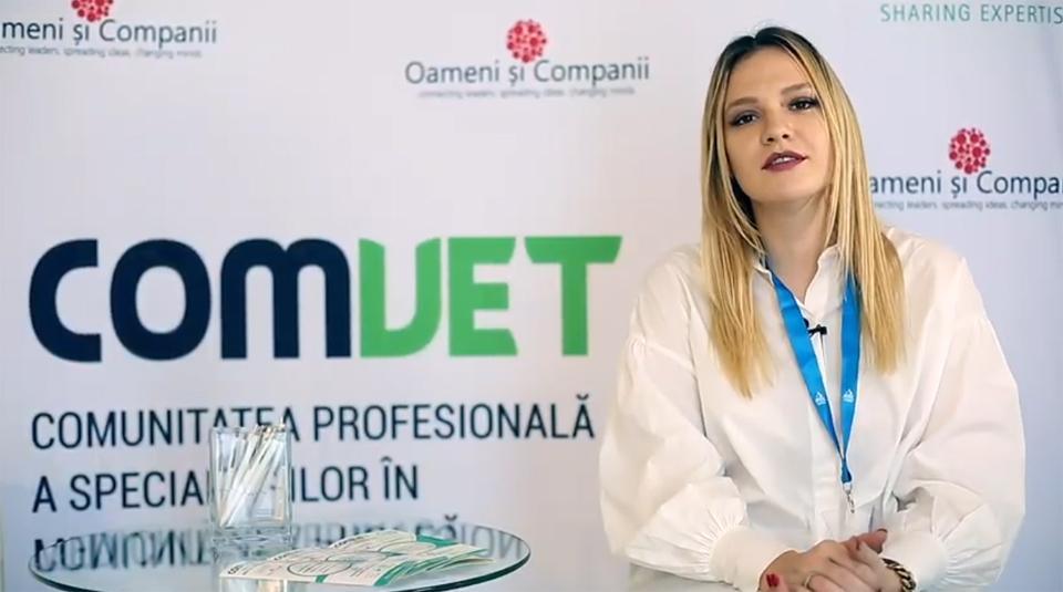 Dr. Alina ȘTEFĂNESCU: Congresul AMVAC reprezintă cea mai mare oportunitate pentru medicii veterinari